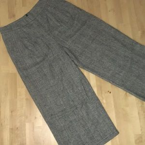 Black & White Plaid Pants